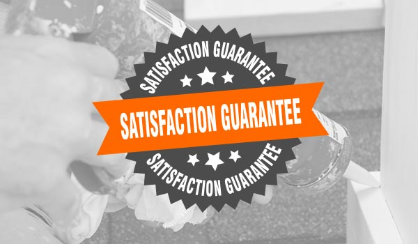 Our satisfaction guarantee